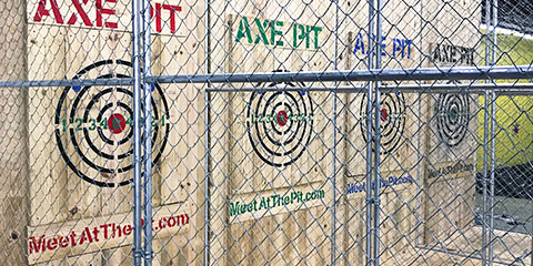 The Pit Axe Throwing Lanes