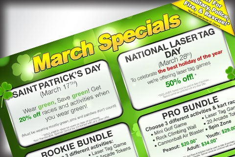 March Specials News image